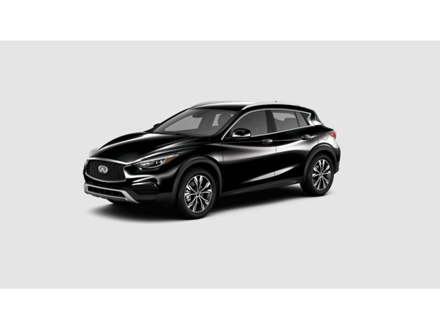 New 2019 INFINITI QX30 LUXE AWD