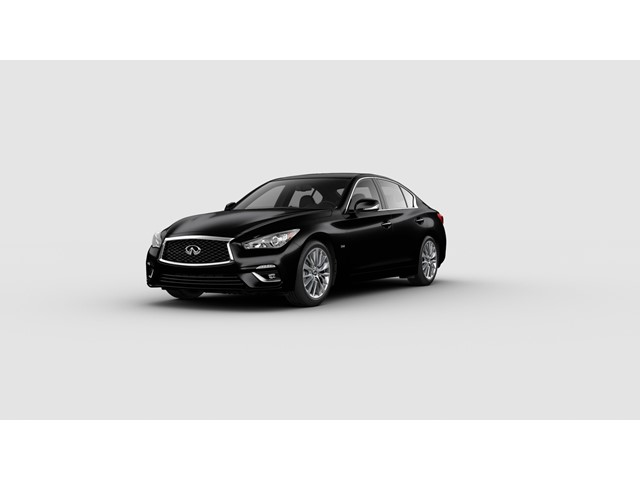 2018 INFINITI Q50 3.0t LUXE 3.0t LUXE RWD Twin Turbo Premium Unleaded V-6 3.0 L/183 [19]